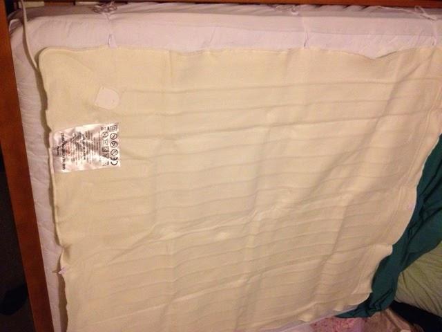aldi electric blanket instructions