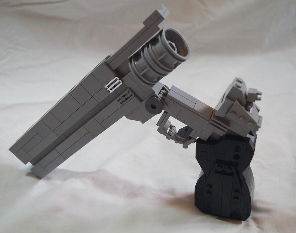 lego guns life size instructions