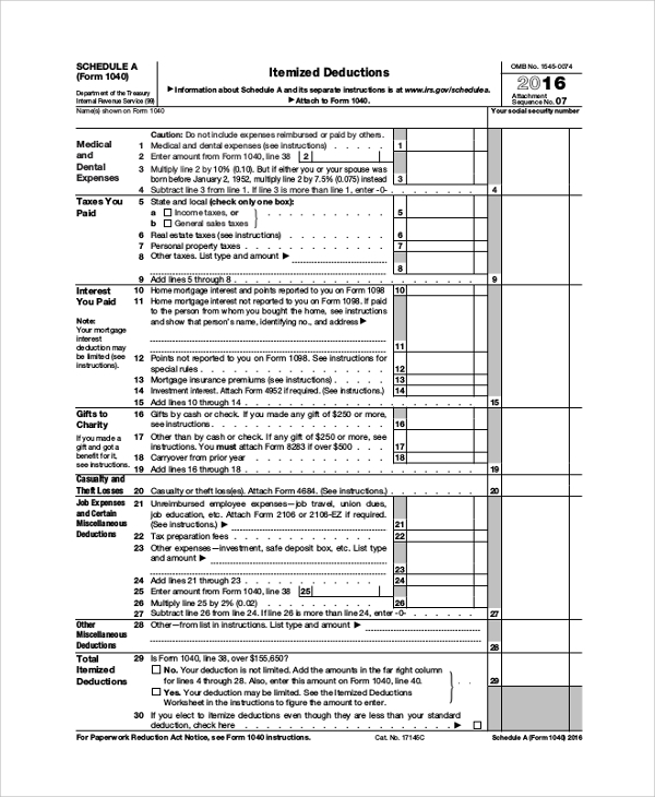 instructions for self employment tax and deduction worksheet