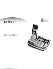 uniden portable power battery instructions