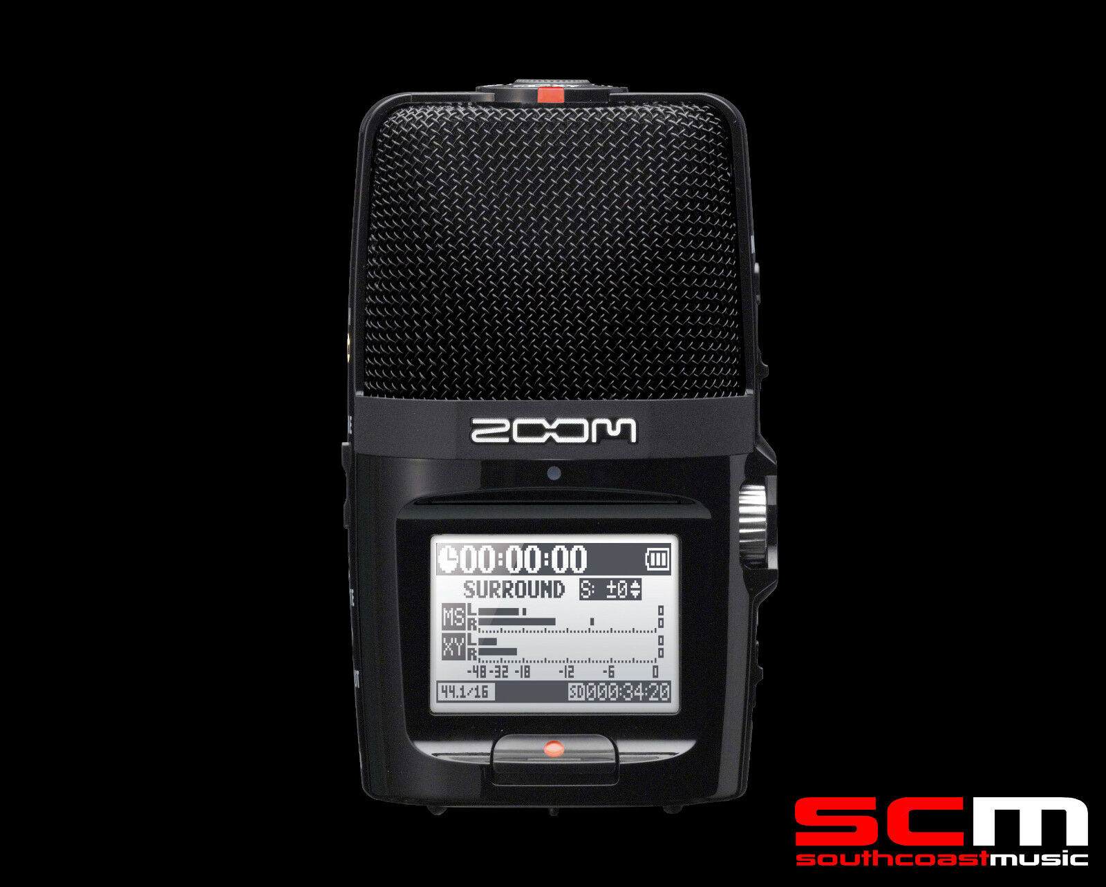 instructions for zoom h2n recorder