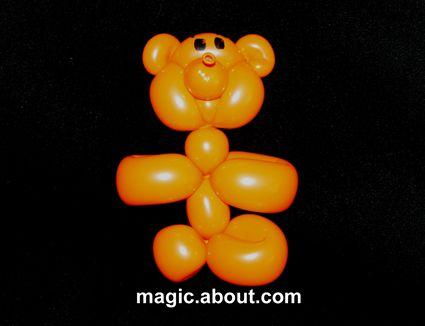 teddy bear balloon animal instructions