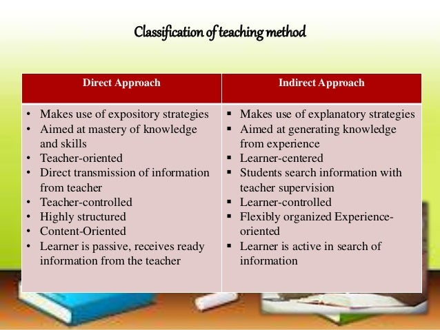 teacher centered instructional strategies