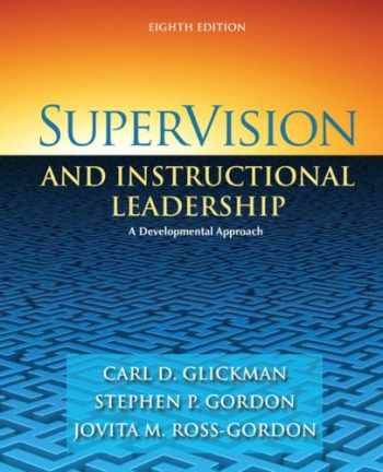 supervision and instructional leadership a developmental approach read online