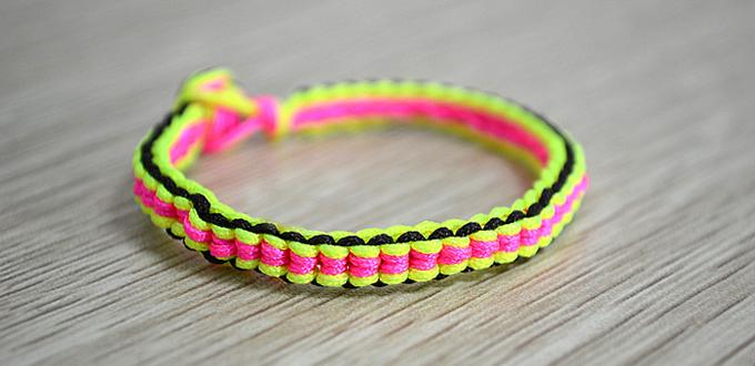 friendship bracelet instructions with pictures easy