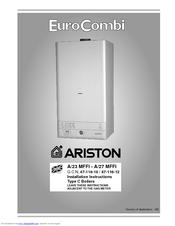 ariston combi boiler instructions