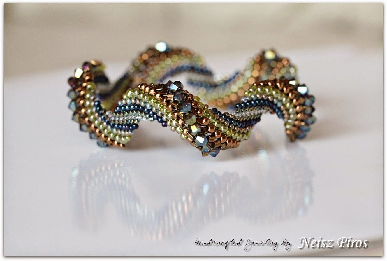 crochet seed bead bracelet instructions