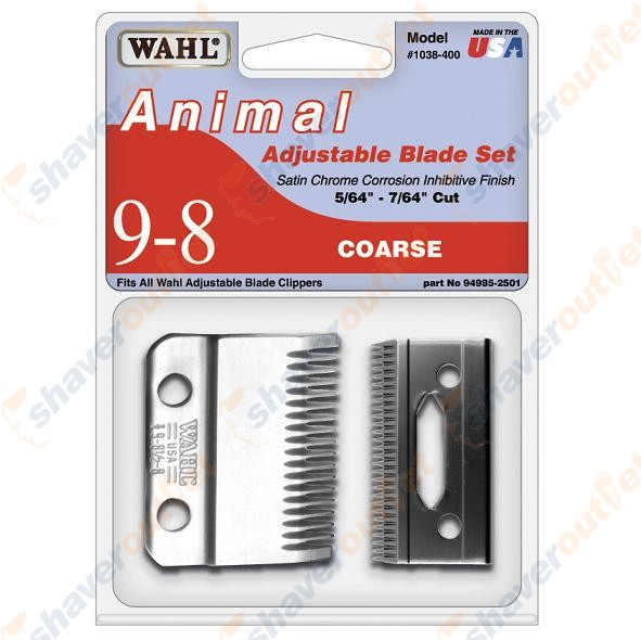 wahl 9818 blades instructions