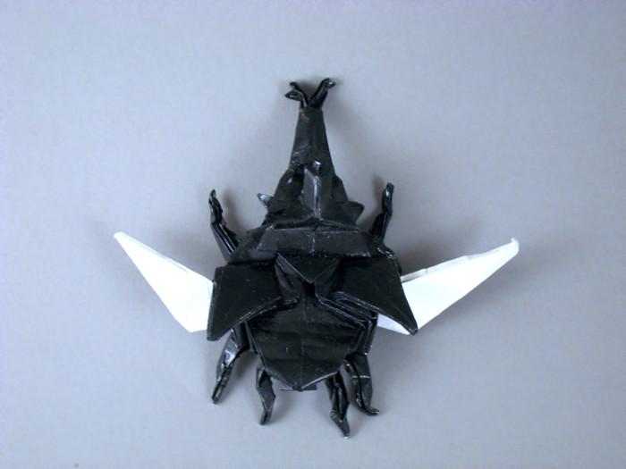 origami samurai hat instructions
