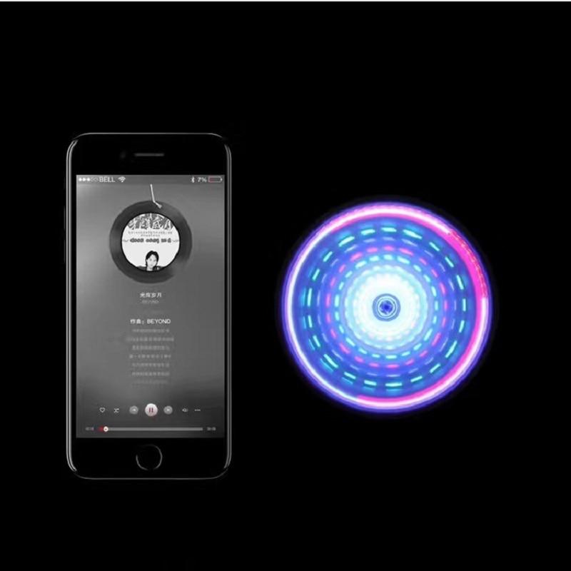 fidget spinner bluetooth speaker instructions