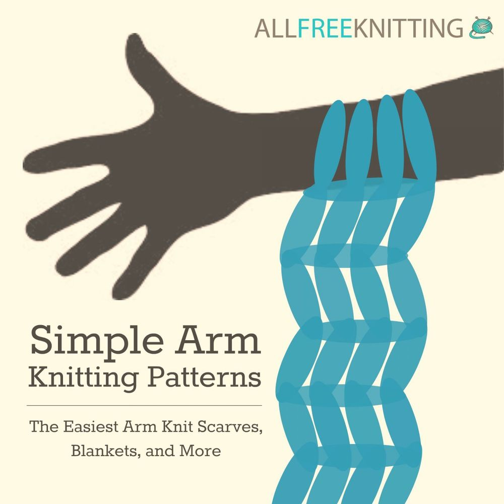 arm knitting instructions video