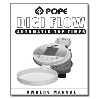 pope manual tap timer instructions