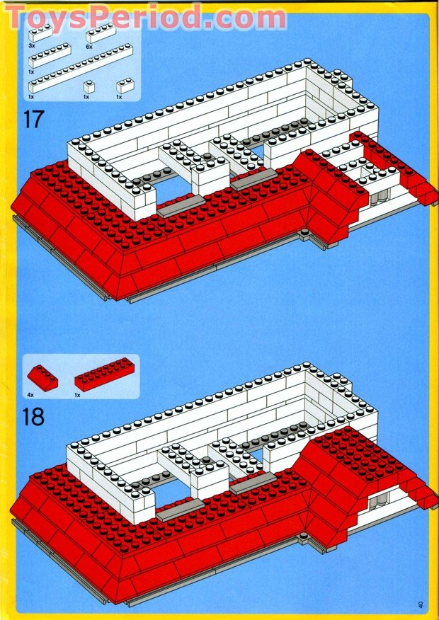 lego house instructions 4956