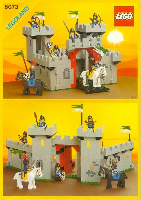 lego robin hood castle instructions