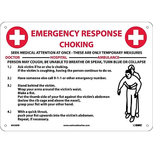 first response evacuation instructions certificate