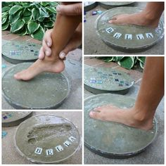 stepping stones baby handprint kit instructions