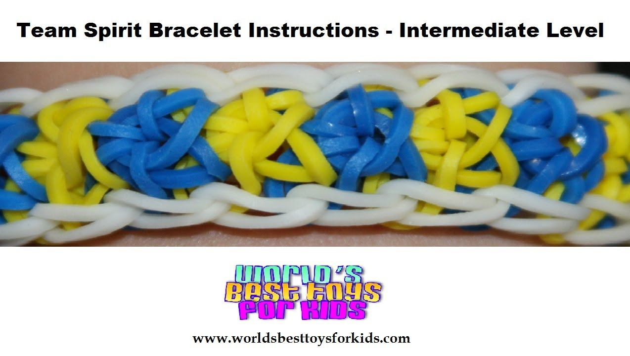 rubber band loom instructions youtube