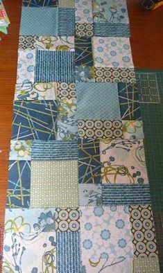 crazy nine patch quilt instructions