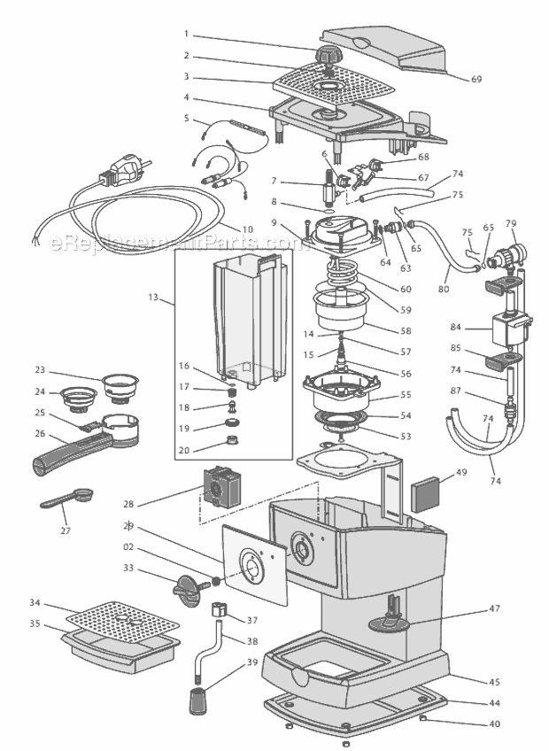 delonghi magnifica espresso machine instructions