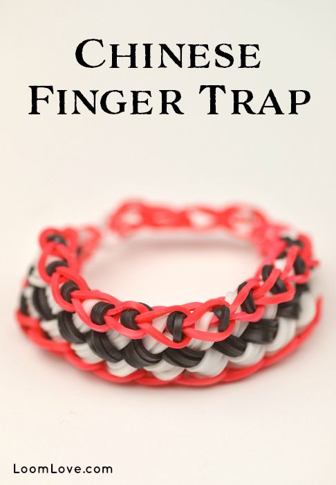 rubber band bracelet instructions using fingers
