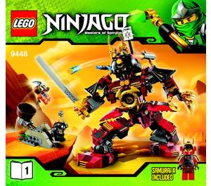 lego ninjago samurai mech instructions
