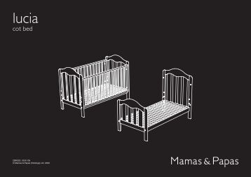 mamas and papas ocean cot bed assembly instructions