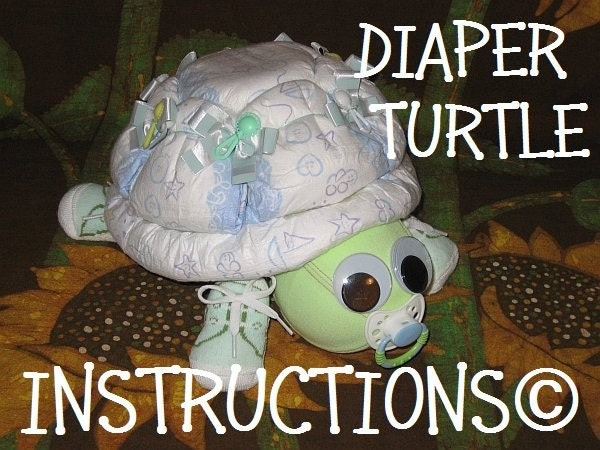 instructions on how to make a tractor diaper cake