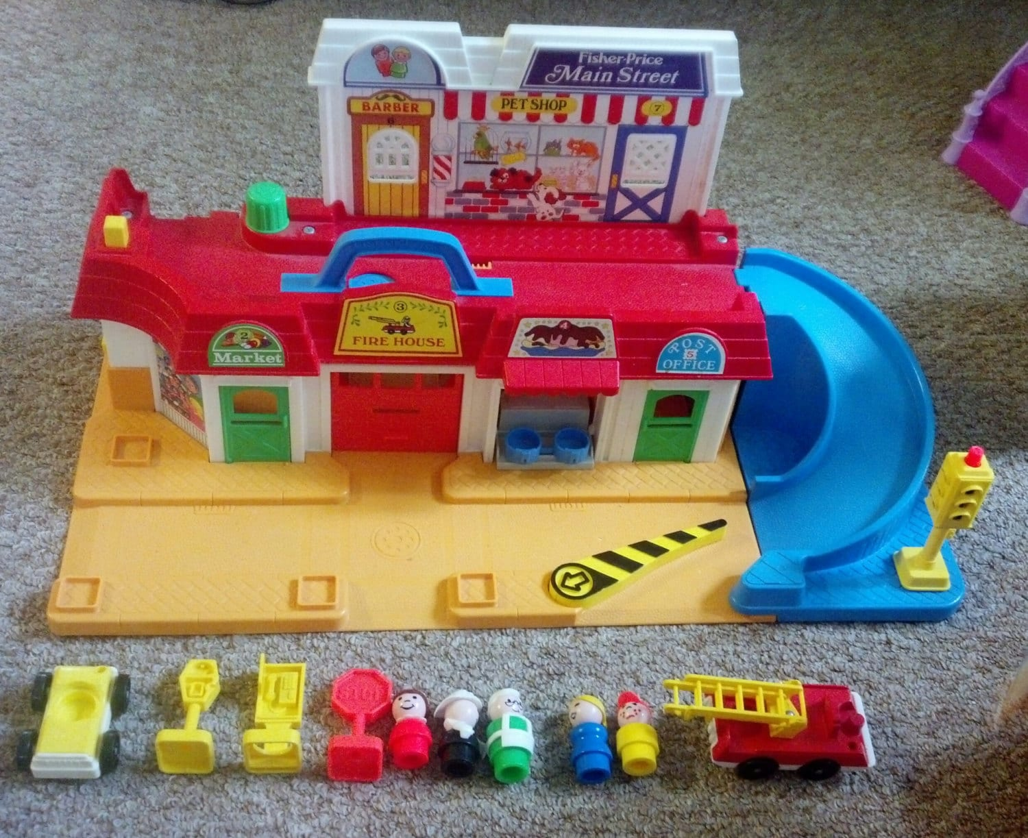fisher price fire station instructions