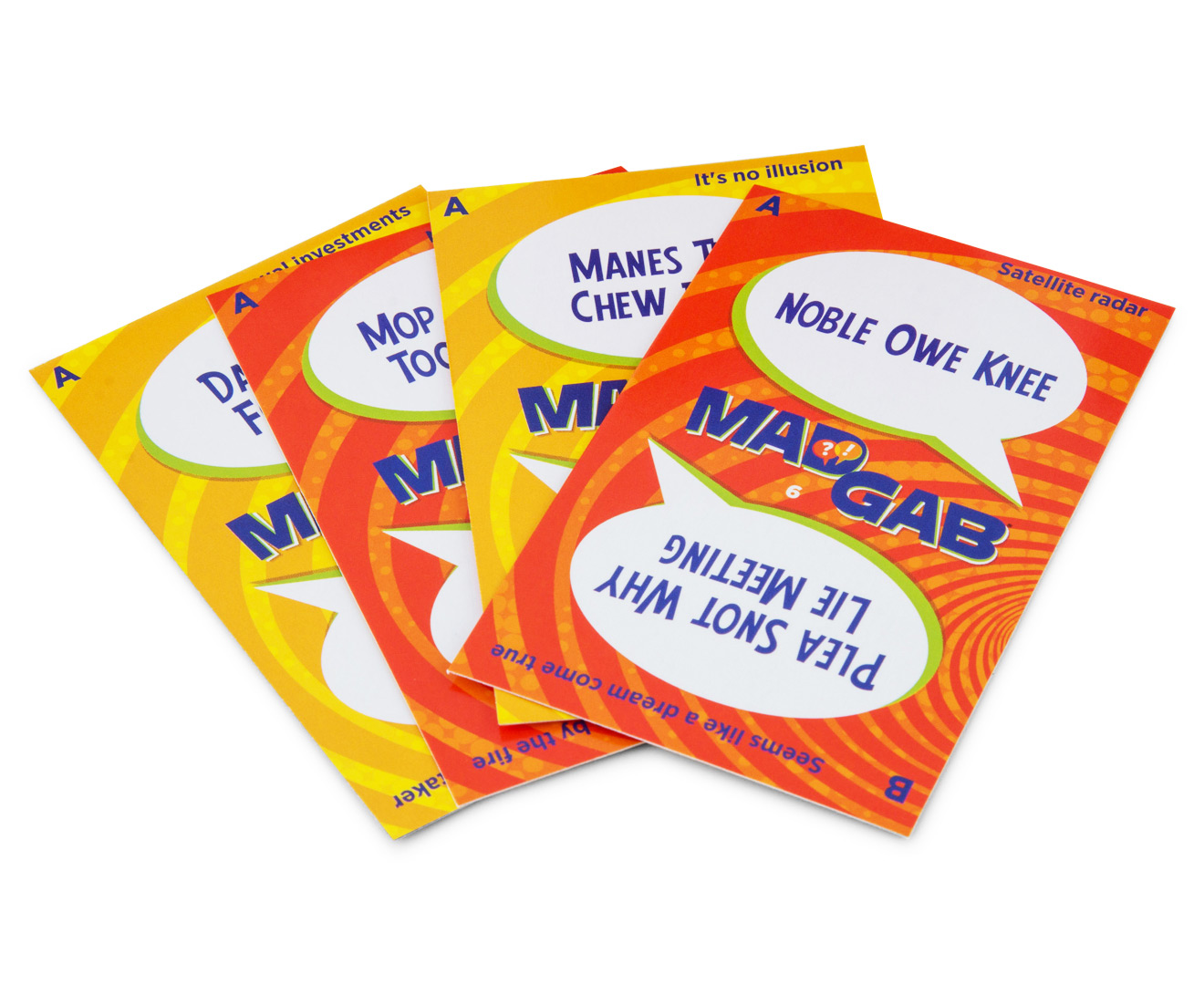 mad gab card game instructions