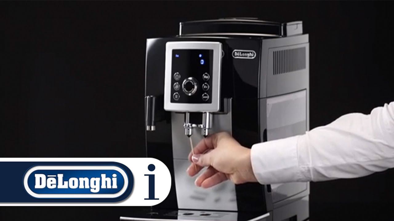delonghi coffee machine magnifica s descale instructions