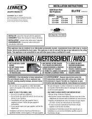 apollo air condiser instruction manual