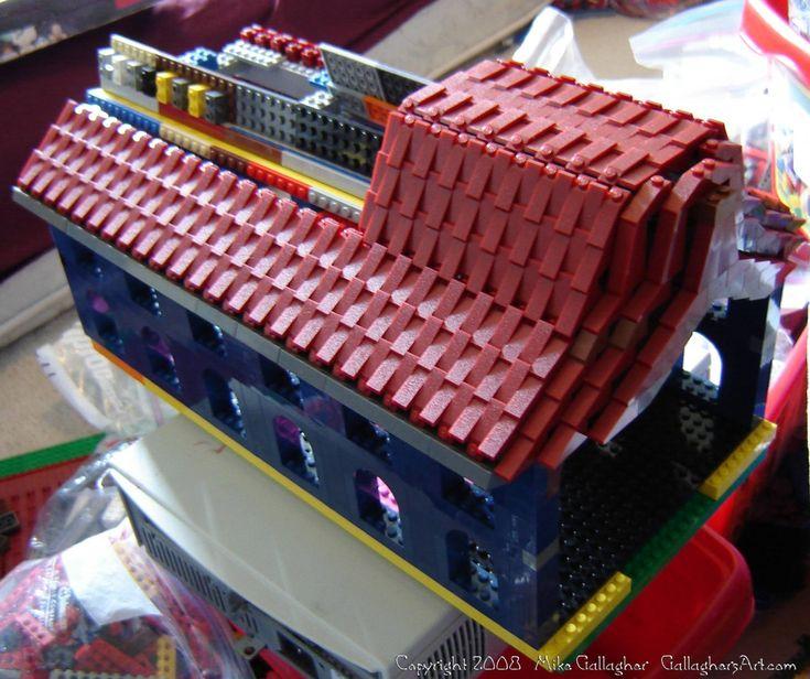 lego engine shed instructions