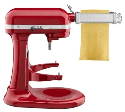 kitchenaid pasta sheet roller instructions