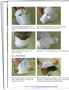 claycrete papier mache instructions