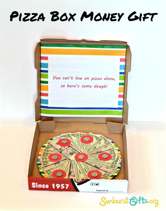 funny pizza box instructions