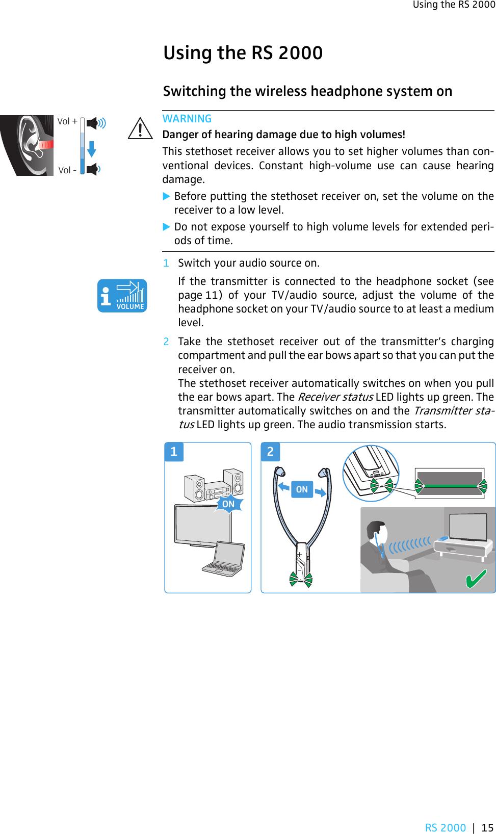 sennheiser tr 120 instructions