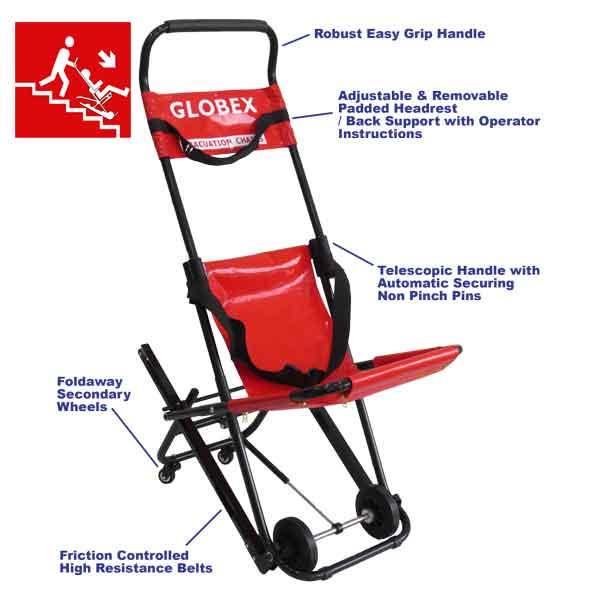 ferno evacuation chair instructions