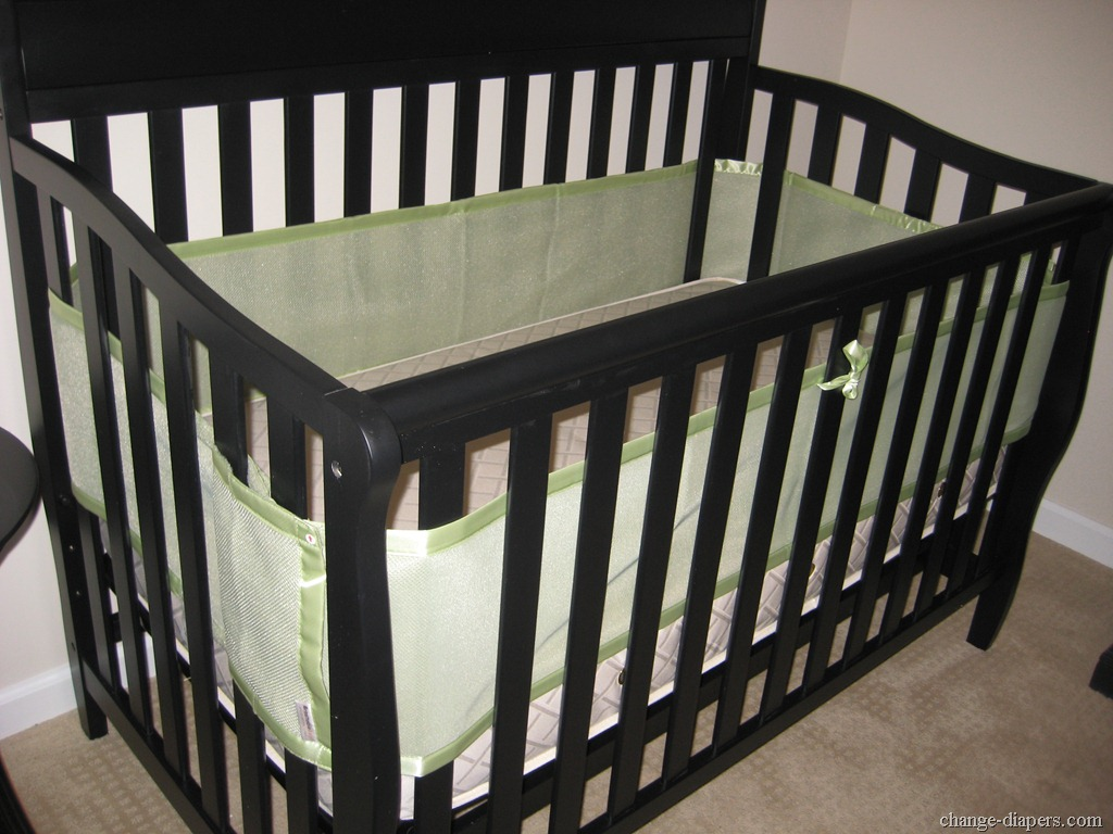 airflow crib bumper instructions