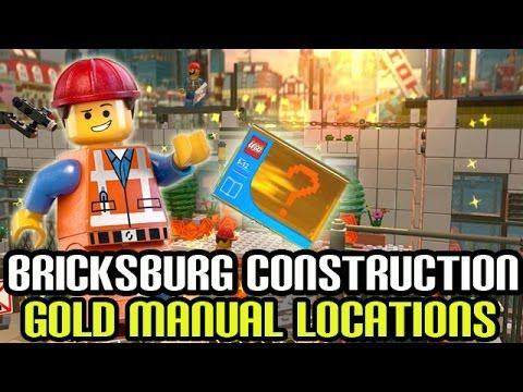 lego movie gold instructions