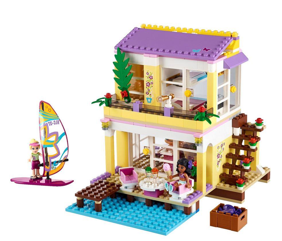 lego friends beach house set instructions