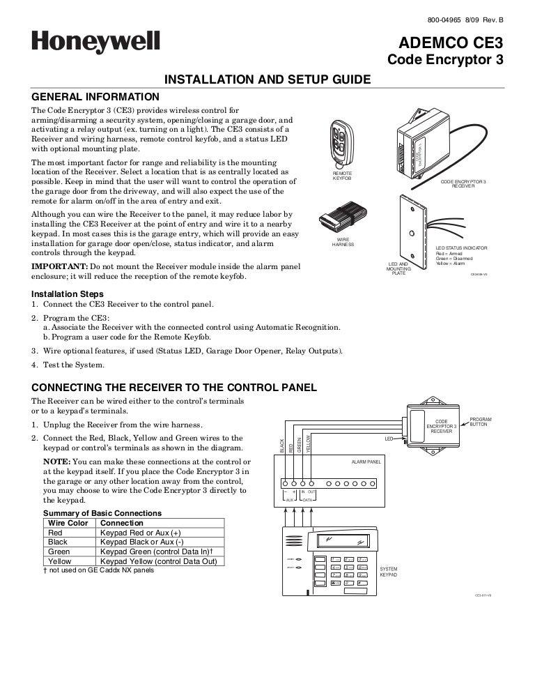 garage door remote control instructions