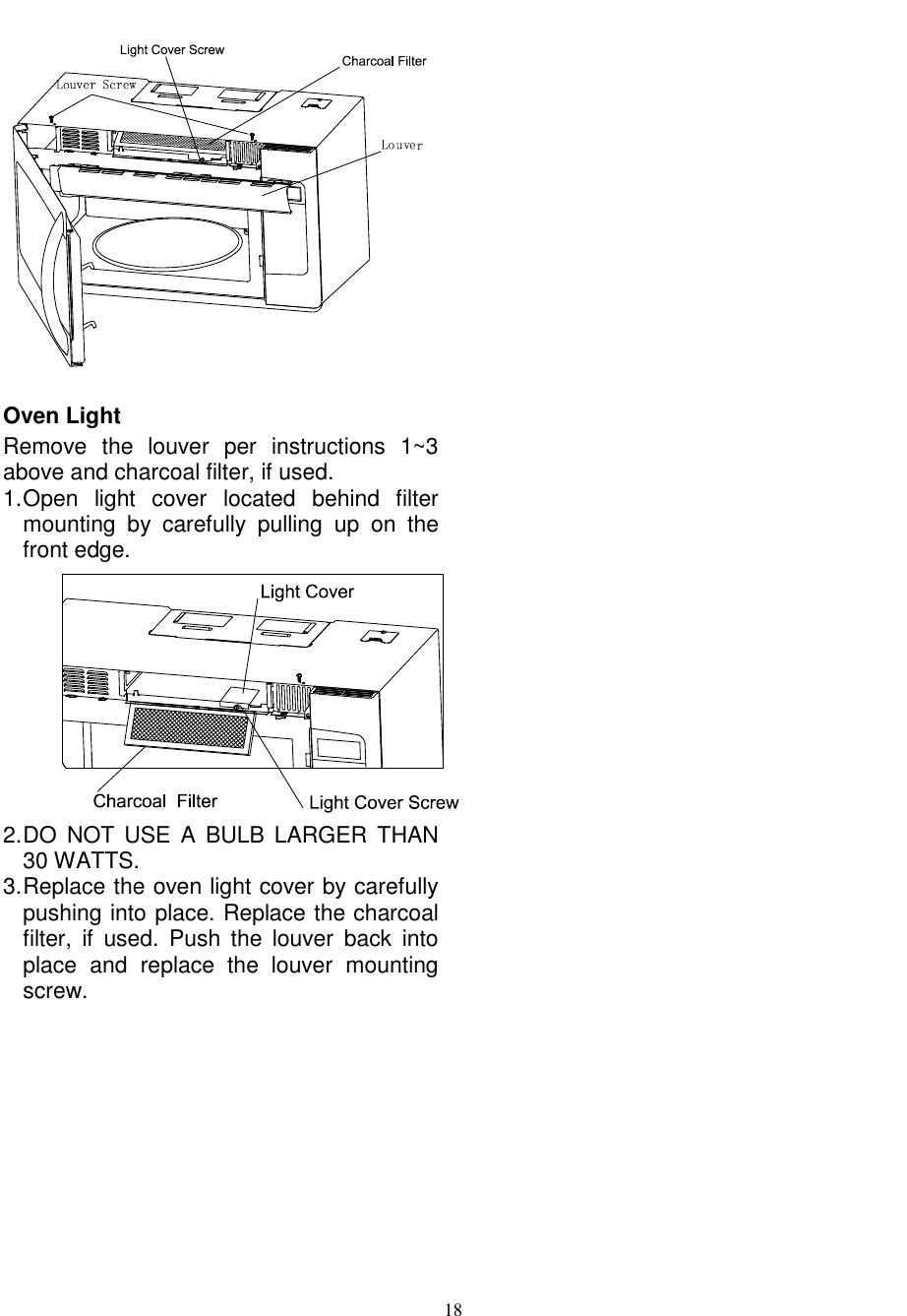 operating instructions for chef fan forced oven