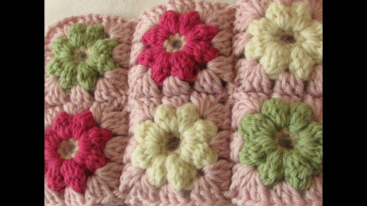 crochet granny square blanket instructions