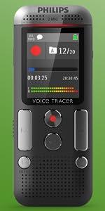 philips voice tracer dvt2700 instructions
