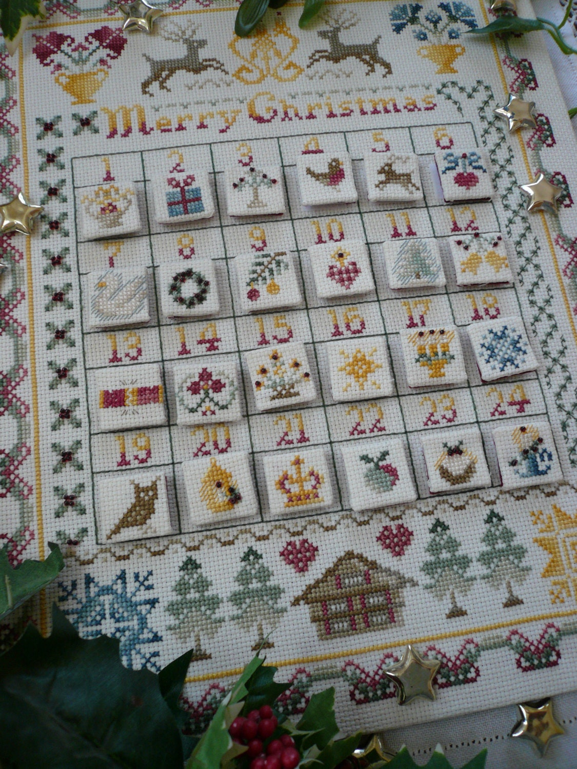 advent calendar instructions for use