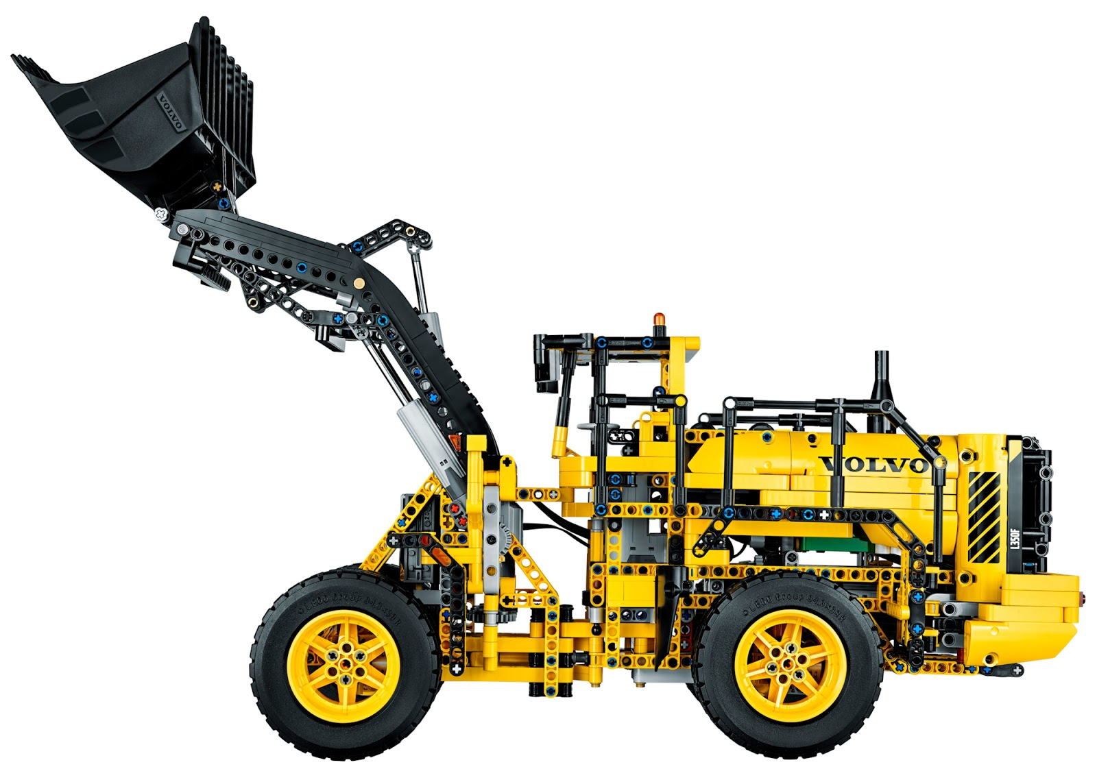 lego technic wheel loader instructions