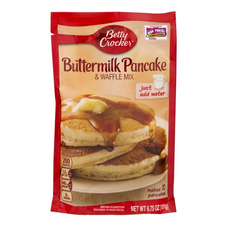 betty crocker buttermilk pancake mix instructions