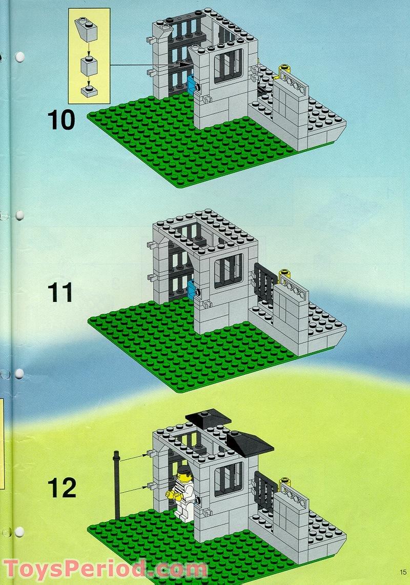 lego police station 2013 instructions