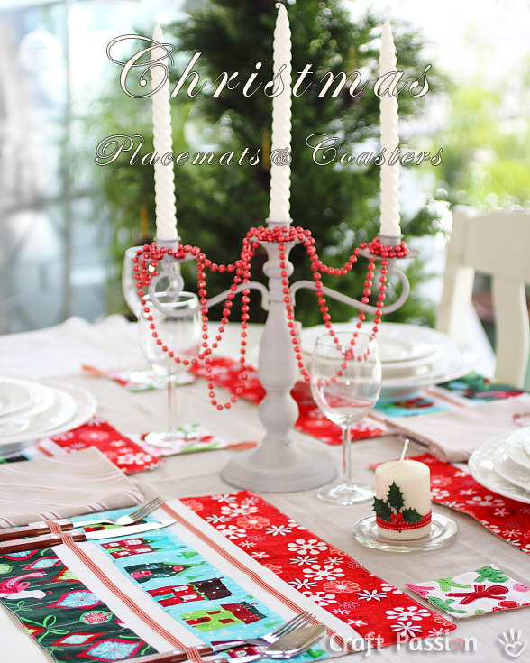 christmas pie table topper piecing instructions