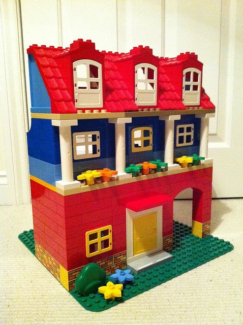 duplo doll house instructions
